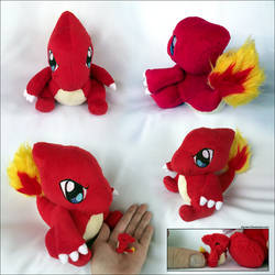 Charmeleon + Mini by xBrittneyJane