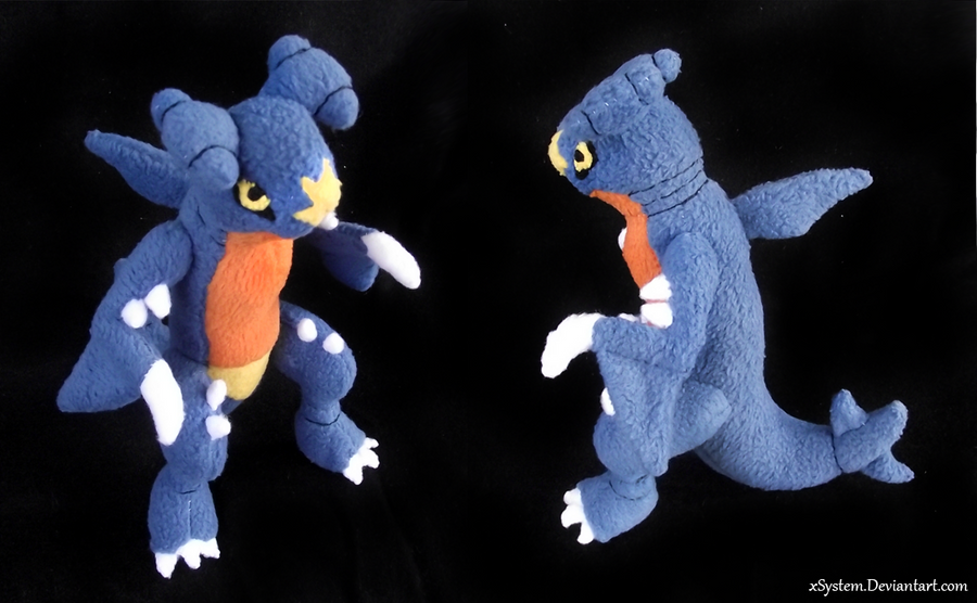 Fleecy Garchomp by xSystem