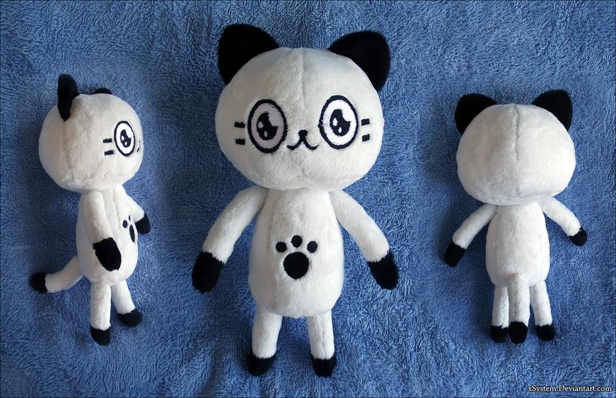 Poka Poka Mura Kitty Plush by xBrittneyJane