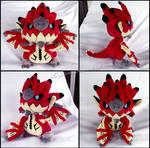 Chibi Rathalos Plush - Monster Hunter
