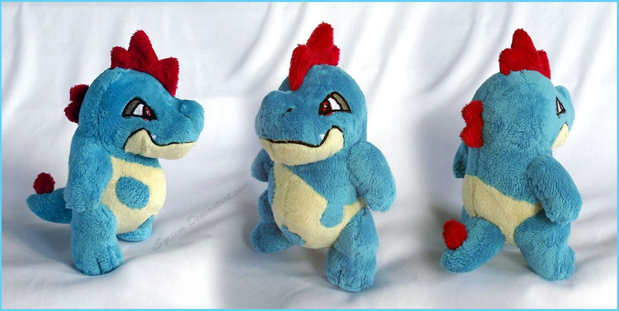 Little Croconaw Plush by xSystem