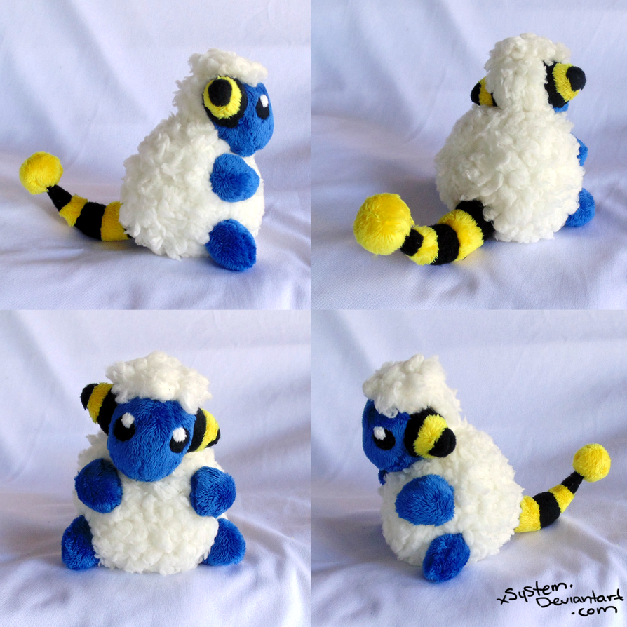 Sitting Mareep by xSystem