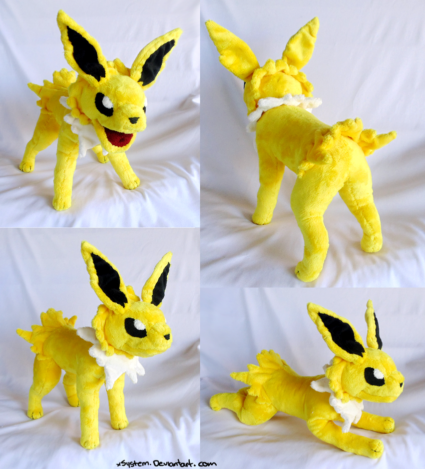 Poseable Jolteon by xSystem