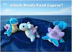 Beady-Eyed Lapras Plushies
