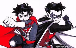 Super Sons Lives ! by KagamochiLen