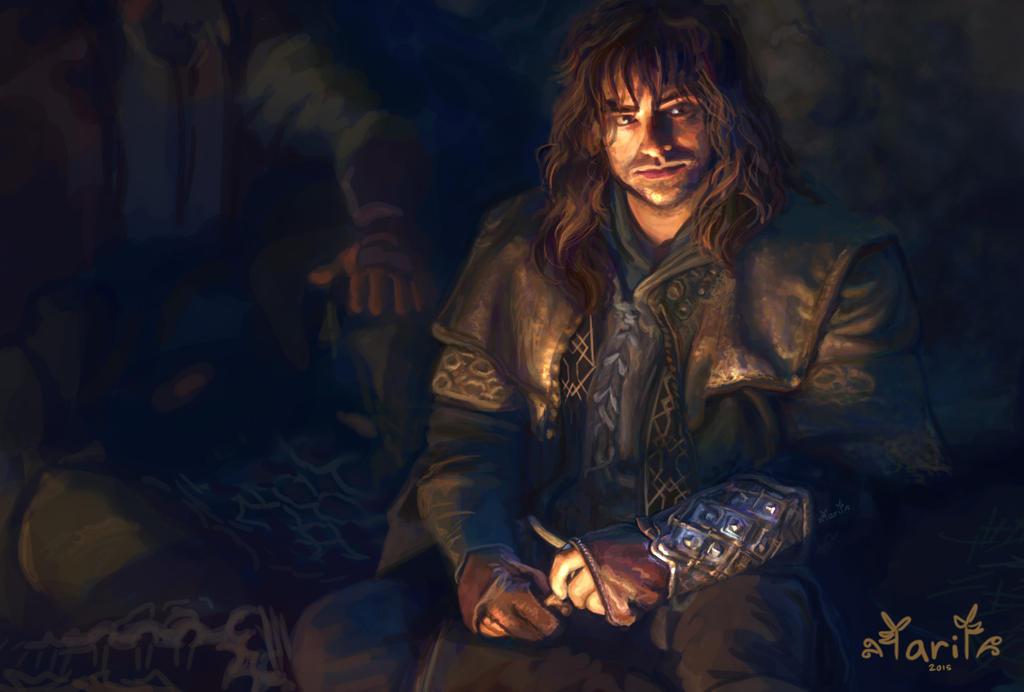 Study of Kili from The Hobbit by Irina-Ari