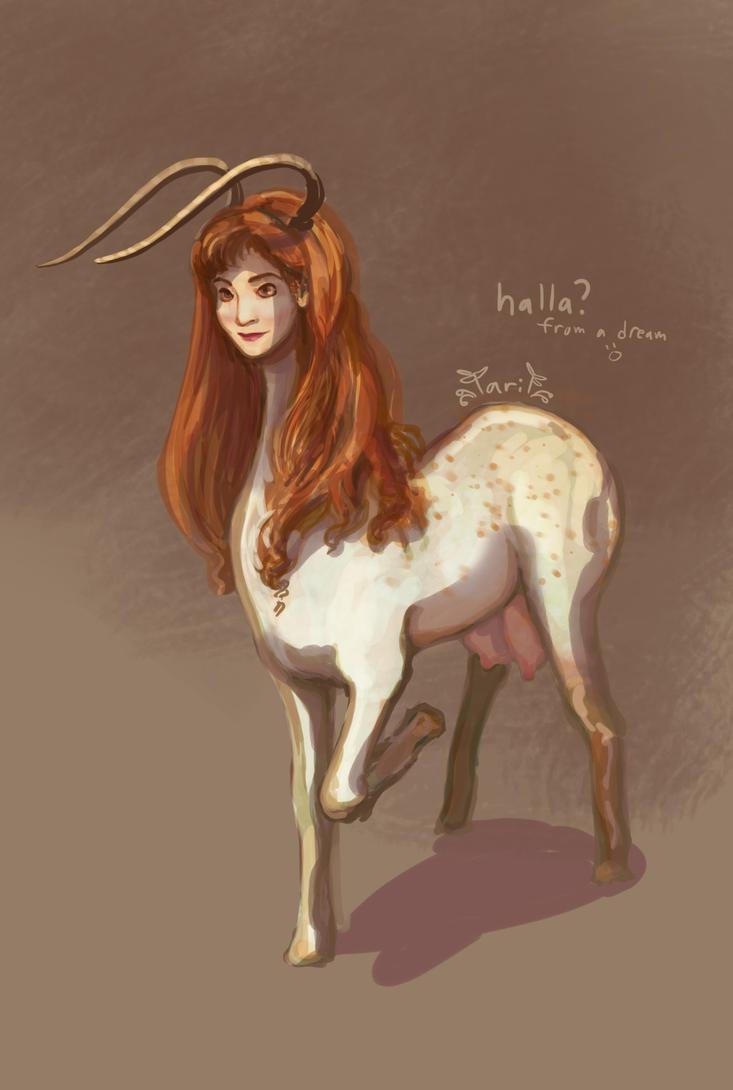 Halla (Dream selfie??) by Irina-Ari