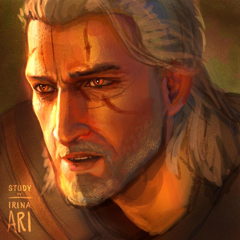 Study of Geralt of Rivia