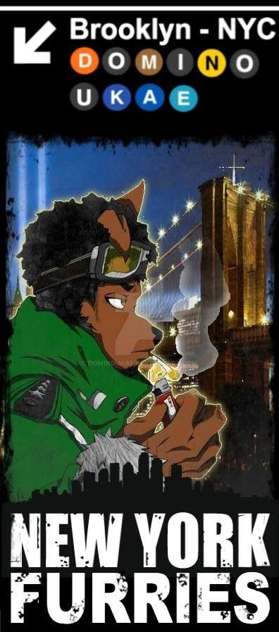 New York Furries - My Fursona by DOMiNOUKAE
