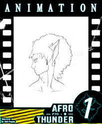 AfroThunder Manga - Animation Sample (Link Below) by DOMiNOUKAE