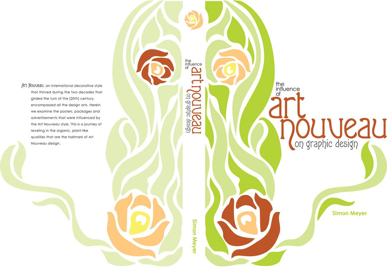Art Nouveau Bookcover by KernChick