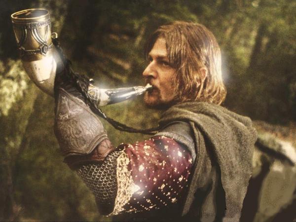 El cuerno de Boromir b...