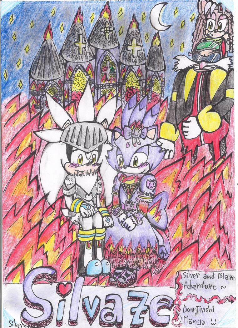 Silvaze Doujinshi COVER by Silver-chan2000