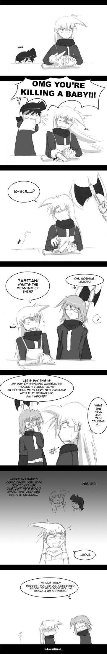 Normal day comic 02 - Backfire by KarinEXE