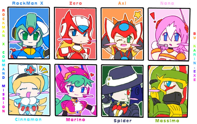 Rockman x command mission by karinexe on deviantart for Mission exe
