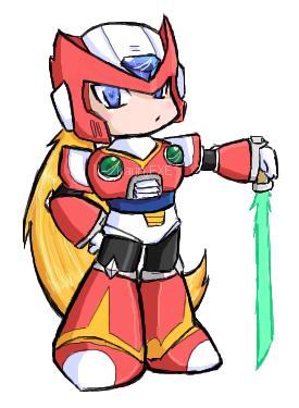 MMX - Chibi Zero by KarinEXE