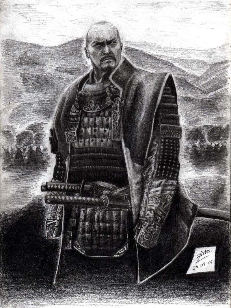 Katsumoto, the last Samurai by muday1369 on DeviantArt