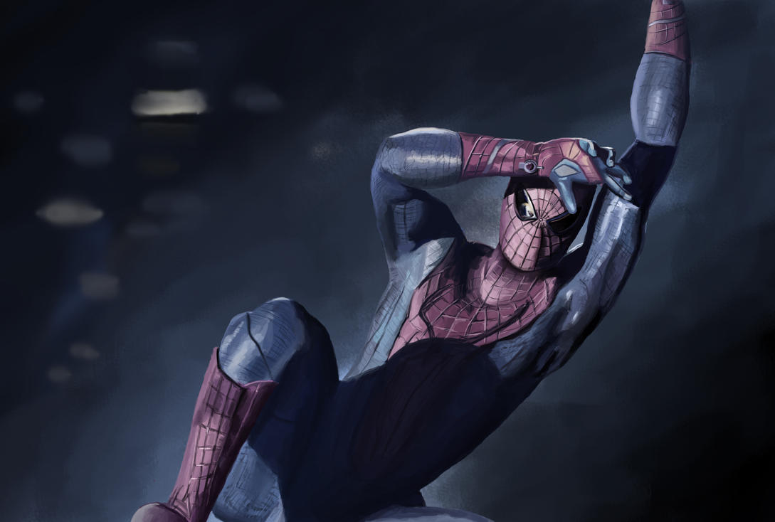 The Amazing Spider - Man by TryingDrawingG