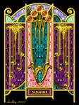 Art Deco Sokagirl Screen