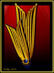 Art Deco Golden Tulip