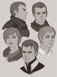 Sketches by Vrihedd