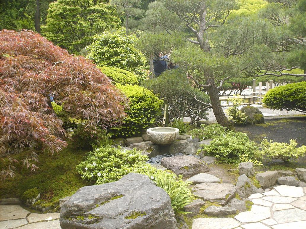 Japanese zen garden painting - Japanese zen garden ...
