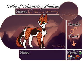 ToWS | Fox that never stops running | Male | Kit by Chezamoon18