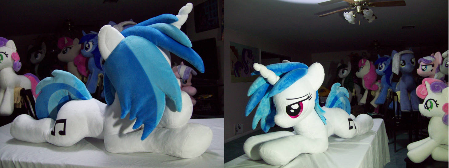 VINYL SCRATCH lifesize by Lanacraft by Vile-Flesh