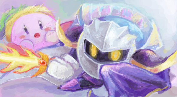 Drawr : Kirby by whitmoon