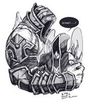 COM : Urzael and Malthael by whitmoon