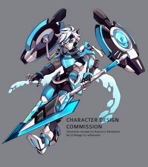 COM : Tarumont [Character Design ]
