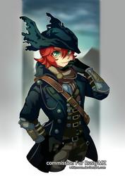 COM : MZ The Hunter [Bloodborne] by whitmoon