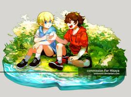 COM : Yukito and Mirai