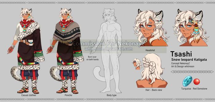 [COM] Tsashi [Character Design]