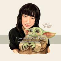COM : Portrait for Rinne