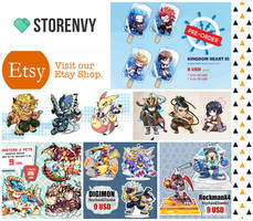 Online Store : Open for Pre-order