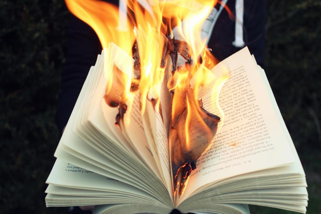 Burning by Romangcc