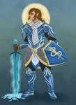 Sindarin - Half Elf Paladin of Istus