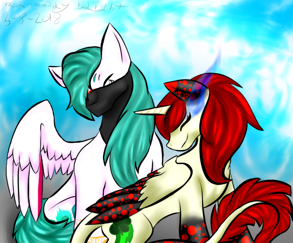 Commission for Gallyz on Equestria Amino by DreauxSuture