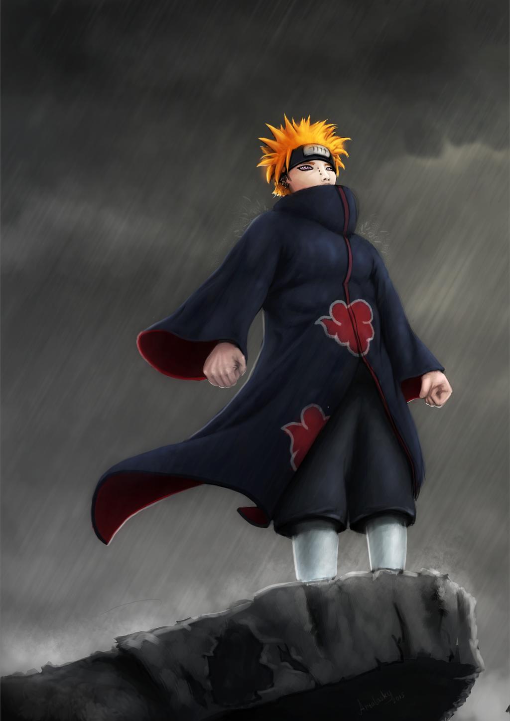 Naruto Shippuuden - Pain (Yahiko) from Akatsuki by ...