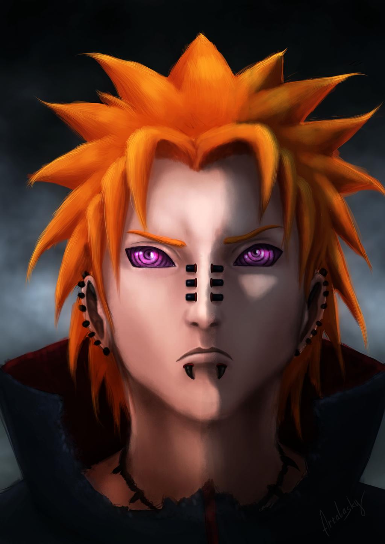 [Naruto Shippuuden] - Pain Yahiko HD (Akatsuki) by ...