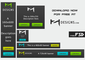 Ad Banner Pack 1 by Henerz-Design