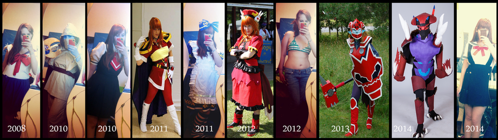Cosplay 2008-2014 by Pureangelz