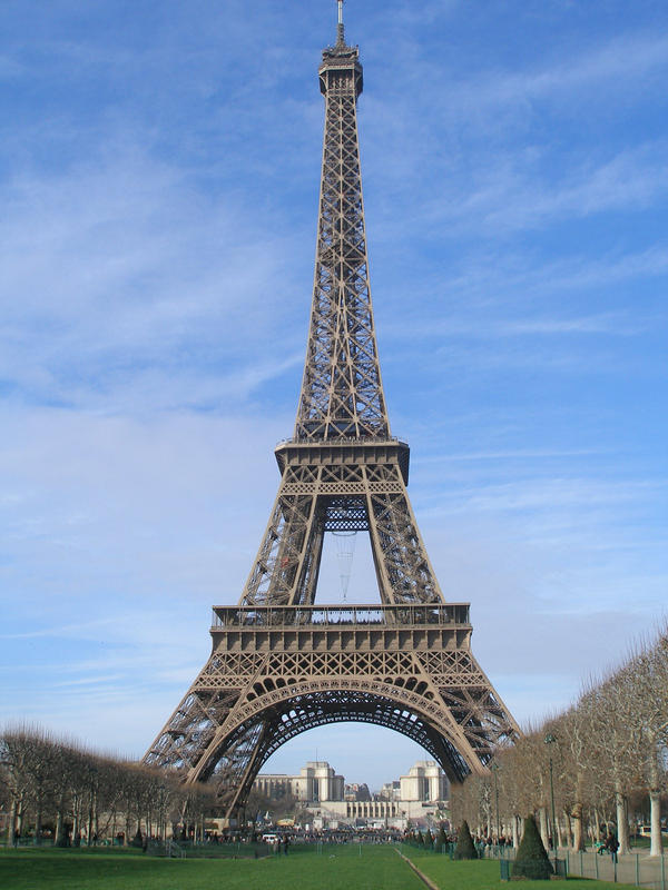 eiffel tower by europestock