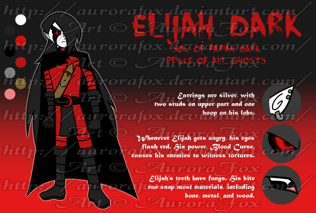 Elijah Dark Profile by AuroraFox