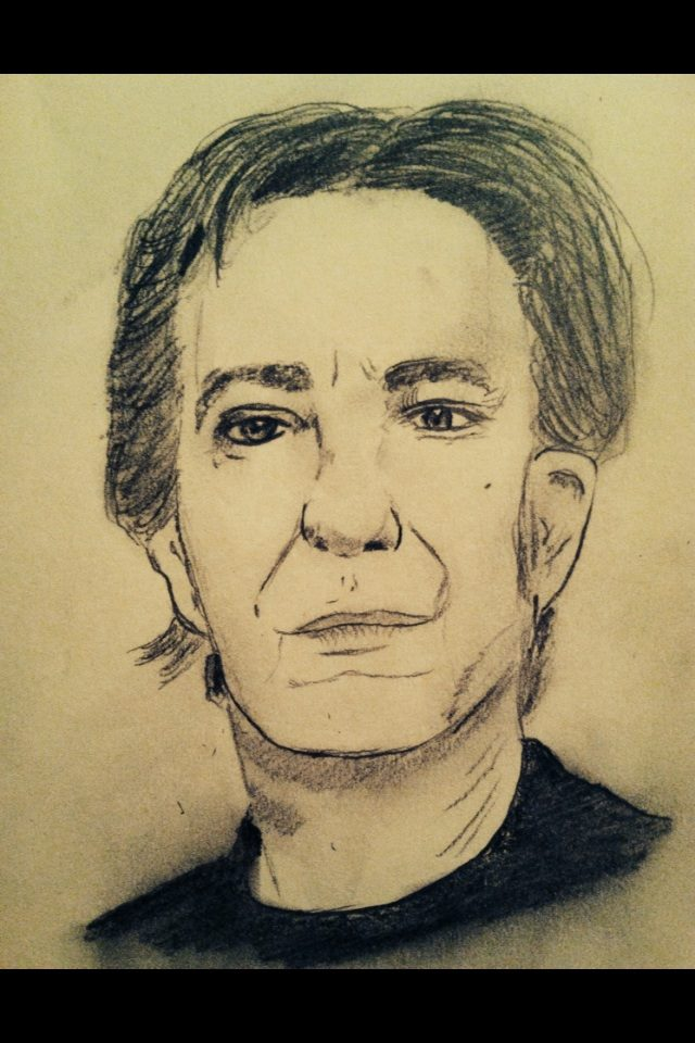 Alan Rickman: Talent is an Accident of Genes by jt0002