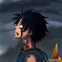 One Piece - Tears of Blood by SiegfriedLied