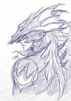 Kain - Dissidia by SiegfriedLied