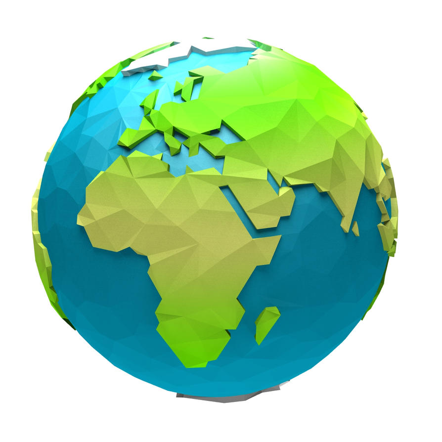cartoon low poly earth by paulsendesign3d on deviantart rh paulsendesign3d deviantart com cartoon earth gif cartoon earth geography
