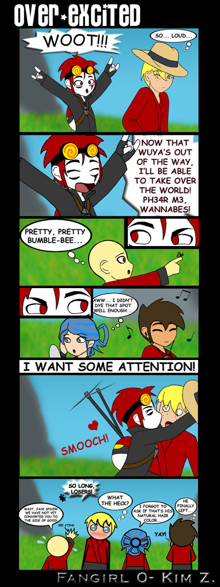 Over-Excited by Fangirl0 by Xiaolin-showdown on DeviantArt